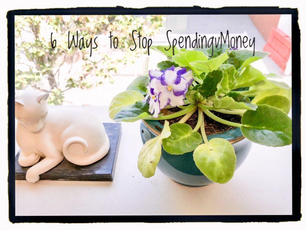 6 Ways to STOP Spending Money