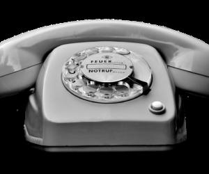 retro modern design phone