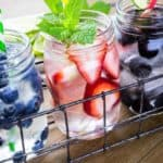Fruit in mason jars