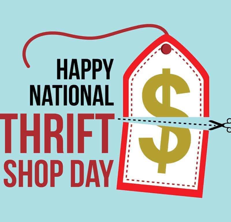 thrift shop day