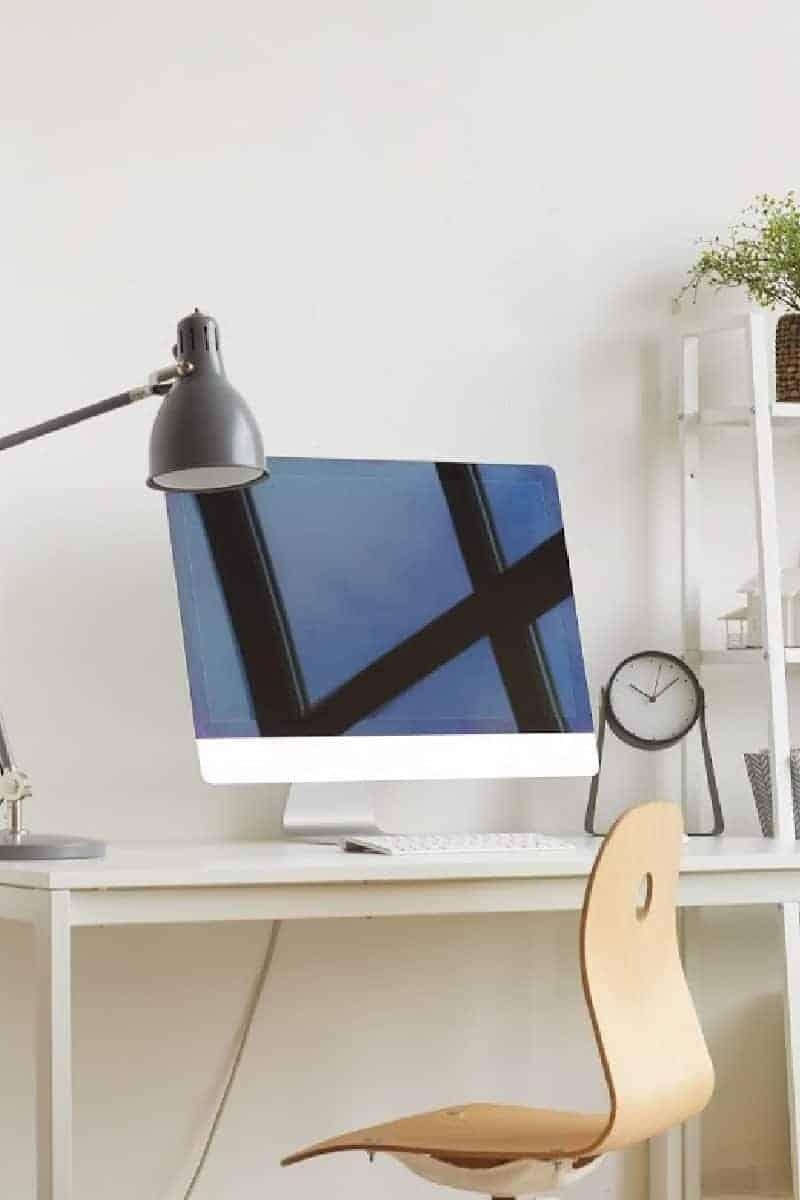 small minimalist office